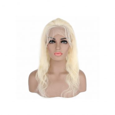 body wave blond wig