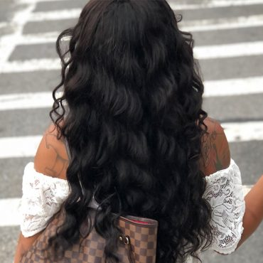 full lace wig loose hair