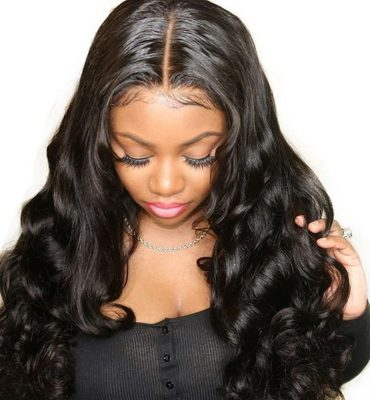 lace front wig body wave hair 02