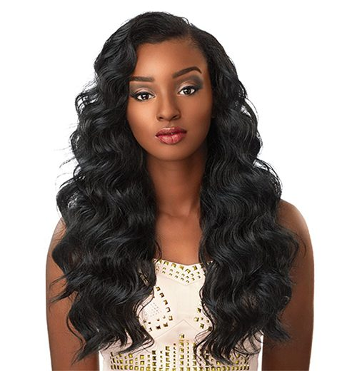 lace front wig category