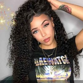 lace front wig curly hair 01