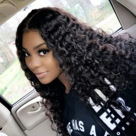 lace front wig deep wave hair 01