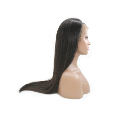 straight wave full lace wig