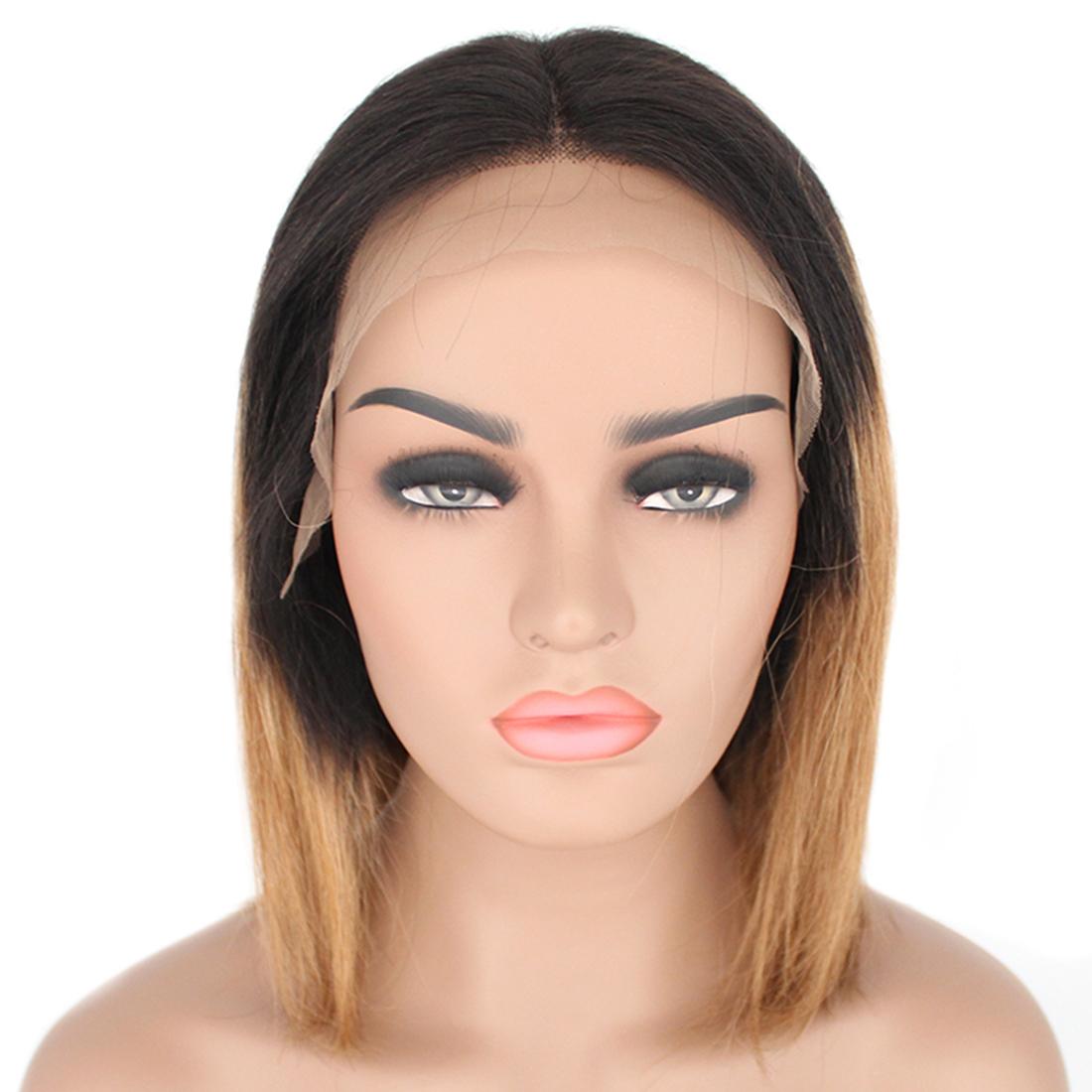 1bt27 bob ombre lace front wig 09