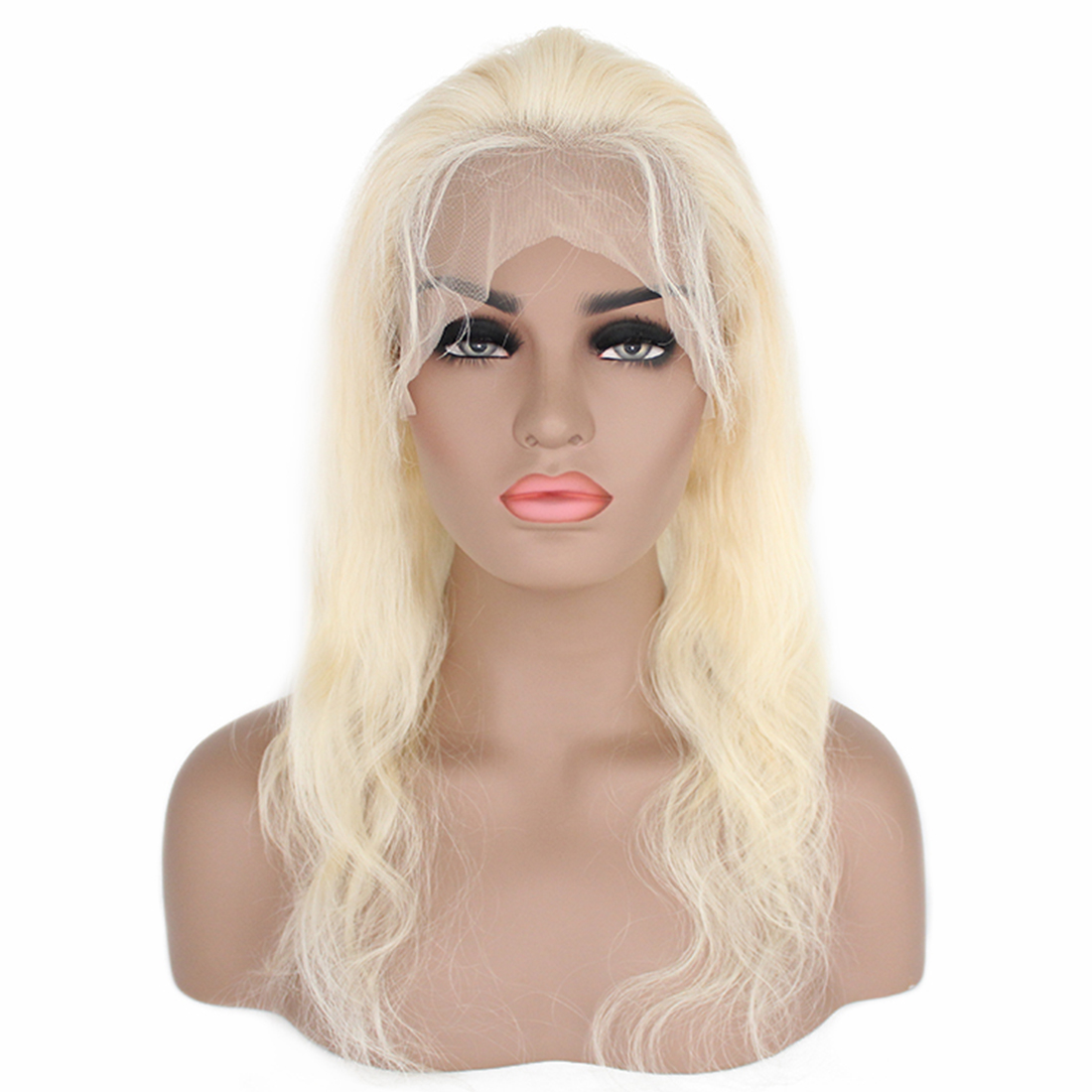 body wave blond full lace wig