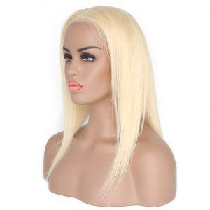 straight blond wig
