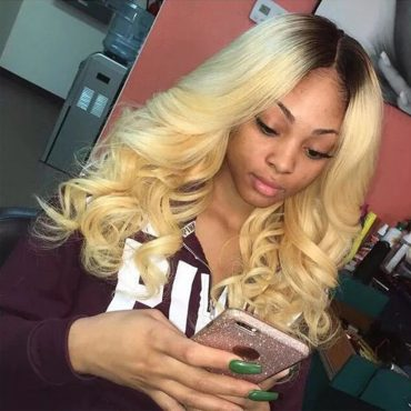 1bt613 ombre wig body wave hair