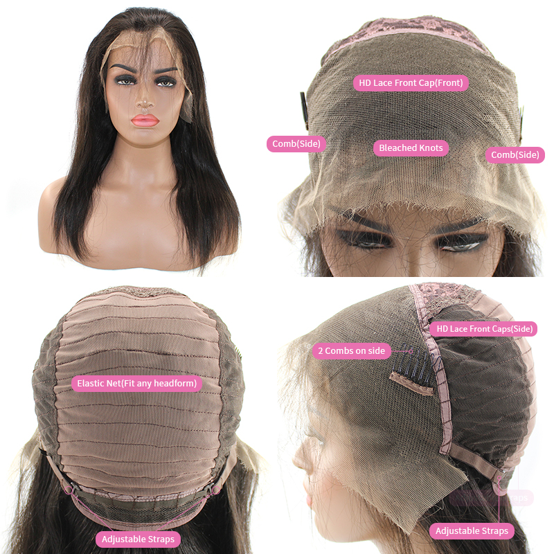 HD lace front wig 01